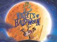 "11:30am-12pm: Amber Benson reads ""The 13 Nights of Halloween"""